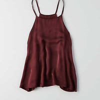 Don't Ask Why Satin Cami Tank, Wine