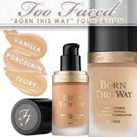 BORN THIS WAY FOUNDATION | Medium-to-full, Oil-Free | Vegan-Friendly, Formulated Without Parabens, Sulfates,