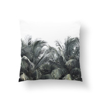 Cozumel Palms - Throw Pillow Cover