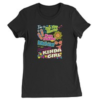 Flip Flop Wearing Kinda Girl Womens T-shirt