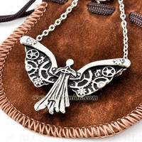 Shadowhunters, The Mortal Instruments Clockwork Angel necklace