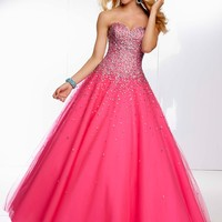 Paparazzi by Mori Lee 95008 Ball Gown Prom Dress