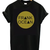 Frank Ocean T Shirt , Fashion Trend Hippie  Swag Dope Hype Tumblr Small, Medium, Large, XL, 2XL Mens Woman's Girl Boys ,