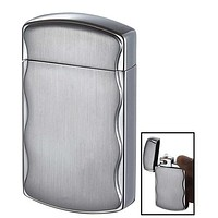 Visol Fireball Satin Chrome Cigarette Lighter