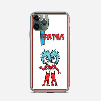 Thing 1 And Thing 2 iPhone 11 Pro Max Case