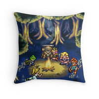 'Chrono Trigger A3 Custom Size' Throw Pillow by likelikes