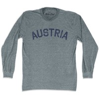 Austria City Vintage Long Sleeve T-shirt