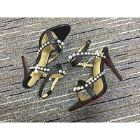 Christian Louboutin Cl Pumps High Heels Reference #02bk22