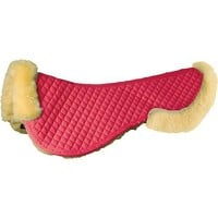Roma Sheepskin Half Pad with Full Rolled Edges   Dover Saddlery