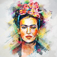 Frida Kahlo Art Print by Tracie Andrews