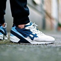 Asics Gel Sight Pacific Ocean Off White