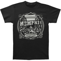 Memphis May Fire Men's  Hourglass T-shirt Black Rockabilia