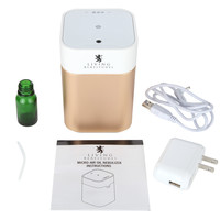 Nebulizer Aromatherapy Essential Oils By Living Beatitudes - Best Micro-air Oil Diffuser - Atomizer Creates Mist with 100% Oil, No Water