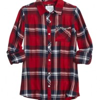 EMBELLISHED POCKET PLAID BUTTON UP | GIRLS $20 PLAID BUTTON-UPS STYLE BUYS | SHOP JUSTICE