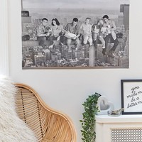Friends Skyline Poster   Urban Outfitters