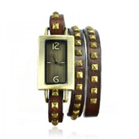 Square Watch With Cute Crown on Luulla