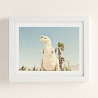 Urban Dreams Photography Palm Springs Dino Art Print | Urban Outfitters