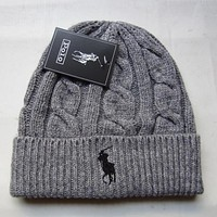 Perfect Polo Hiphop Women Men Beanies Winter Knit Hat Cap