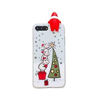 IPhone 8 / 7 Plus Case , Transer Christmas Slim Soft TPU Protective Case Cover For IPhone 8/7 Plus 5.5 Inch