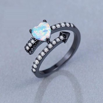 Gift Shiny New Arrival Stylish Jewelry Heart Halloween Gifts Ring [11639785556]