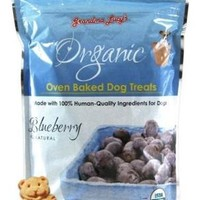 Grandma Lucy's Organic Blueberry Baked Dog Treats 14oz