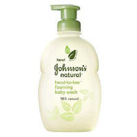 Johnson & Johnson Soothing Naturals Head-to-Toe - 18 Ounce