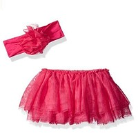 NEW The Children's Place Baby Girl Tutu Headband Set Size 0-6 months Pink