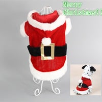 Christmas Pet Clothes Hoodies New Clothing for Dog Winter Customes for Chihuahua Warm Cheap Dog Jacket Coat Roupas de Perros #25