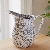 Crow Canyon Home Enamelware Pitcher