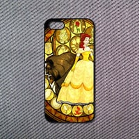 Beauty and the beast iPhone 5C case iPhone 5S case iPhone 5 case iPhone 4/4S case Blackberry Z10 case Blackberry Q10 case Htc one m8 case