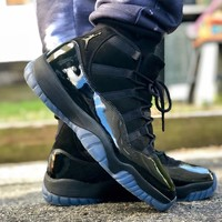 "Air Jordan 11 Retro ""Blackout"" ""Prom Night"" ""Cap and Gown"" 2018 - Best Deal Online"