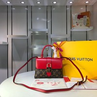 LV Louis Vuitton MONOGRAM CANVAS One Handle HANDBAG SHOULDER BAG