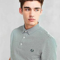 Fred Perry Striped Jersey Polo Shirt