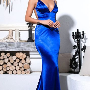 Maris Satin Luxe Gown