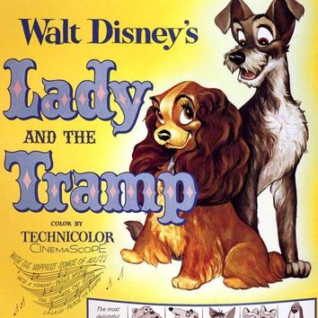 Lady and the Tramp 11x14 Movie Poster (1955)