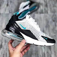 Nike Air Max 270 Popular Women Men Breathable Air Cushion Sport Running Shoes Sneakers
