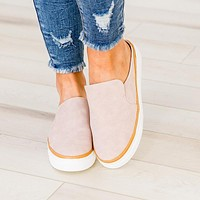 Blush Backless Sneaker