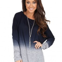 Anything At All Top in Navy   Monday Dress Boutique