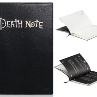 Anime Death Note Cosplay Notebook & Feather Pen
