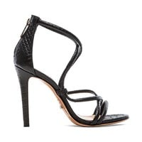 Schutz Brazilian Heel in Black