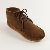 Suede Ankle Boot   Minnetonka Moccasin