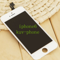 LCD Display Touch Digitizer Complete Screen with Frame Full Assembly Replacement for iPhone 6 Free DHL FEDEX shipping