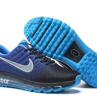 """Nike Air Max "" Men Sport Casual Gradient Color Air Cushion Sneakers Running Shoes"