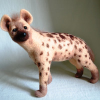 Hyena, portrait similarity of your pet.....I will make this item for your order