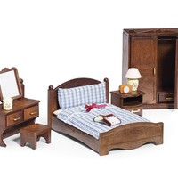 Calico Critters MASTER BEDROOM FURNITURE SET ~NEW~