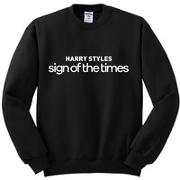 """Harry Styles """"Harry Styles Sign of the Times"""" Crewneck Sweatshirt"""