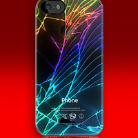 Broken, Rupture, Damage Cracked Out Black Apple iPhone 5, iphone 4 4s, iPhone 3Gs, iPod Touch 4g case by pointsale store.com