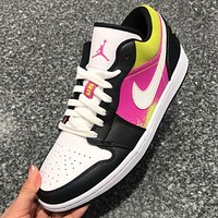 NIKE Air Jordan 1 Low SE New fashion hook couple running shoes