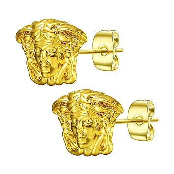 Mister Medusa Stud Earrings