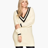 H&M+ V-neck Sweater - from H&M